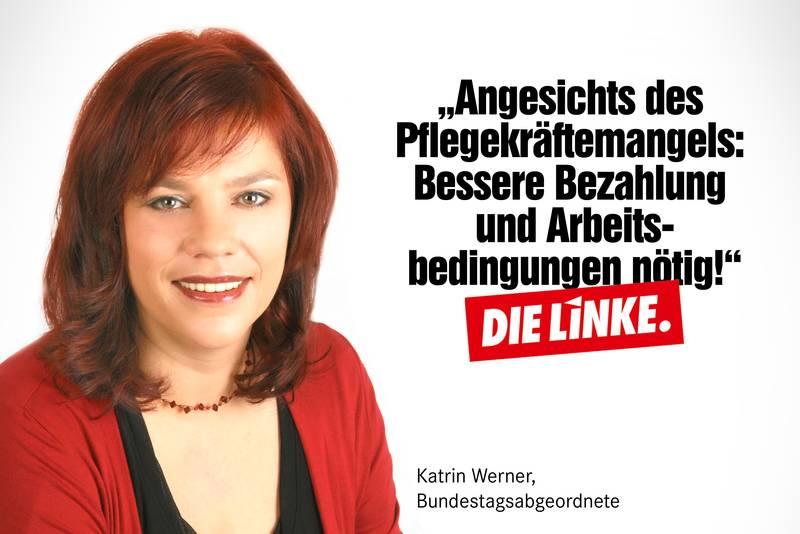 Bild und Zitat von Katrin Werner zum Thema