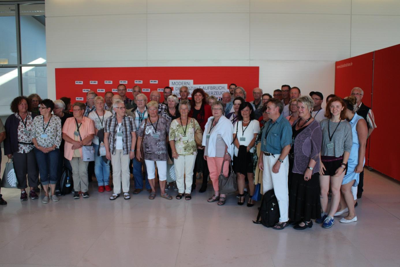 Besuchergruppe aus dem Wahlkreis
